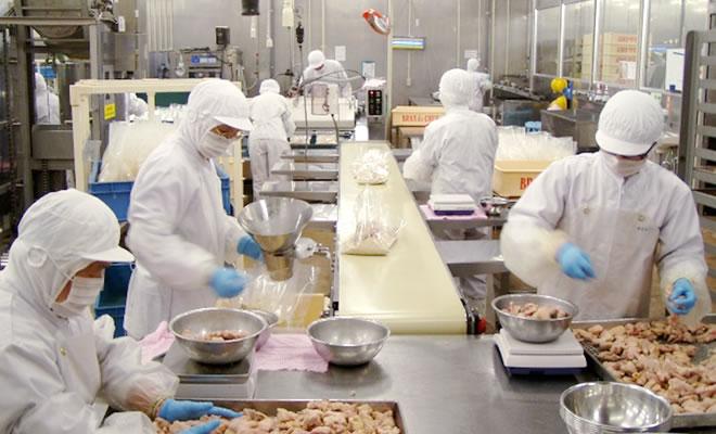 国内加工による品質管理