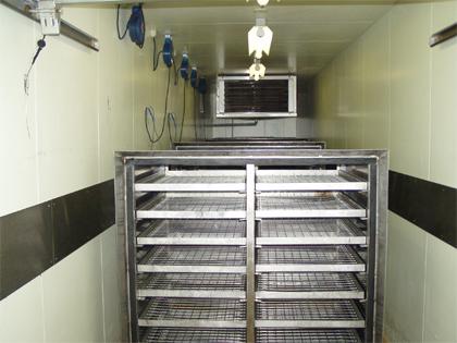 解凍専用冷蔵庫