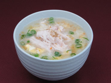 Rice porridge of the chicken(タッチュ【韓国】)